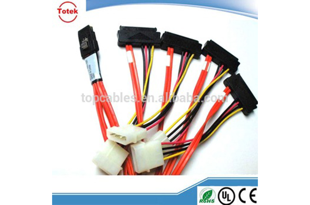 Factory supply high quality custom SATA cable assembly