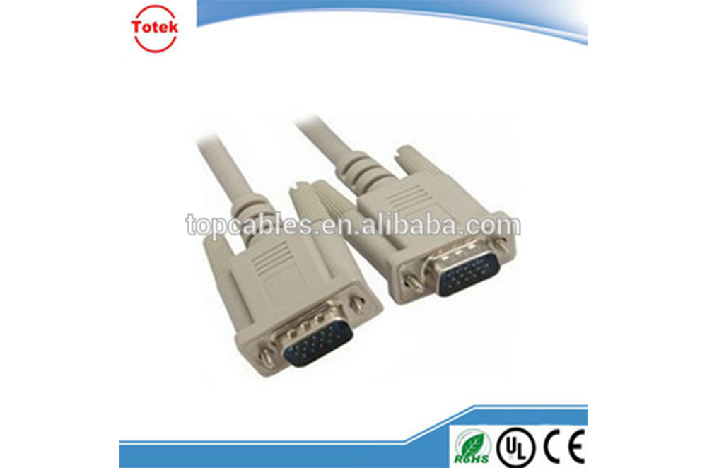 Round Wire UL 2919/20276 VGA/RGB Cable With ISO9001 in Projecting Camera