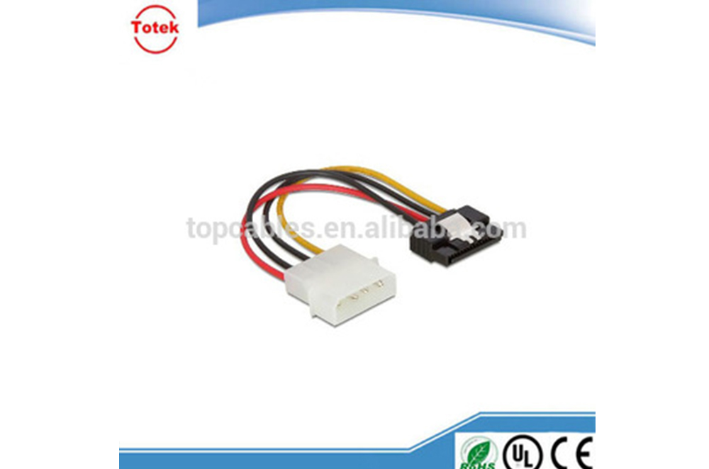 SATA 15P with Latching to Molex Power 4P wire harness