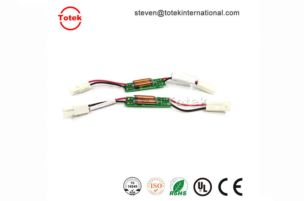 2pin JST SMP-02V connector wire harness with relay pcb board