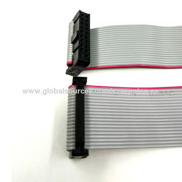 Customized 1.27mm ul2651 28awg 20 pin flat ribbon cable2.jpg