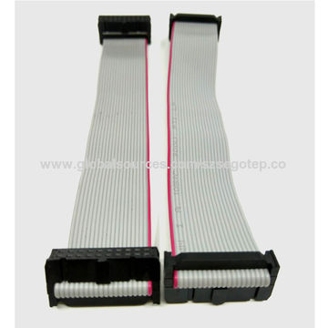 Customized 1.27mm ul2651 28awg 20 pin flat ribbon cable3.jpg