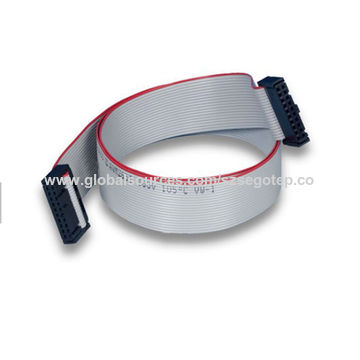 Customized 1.27mm ul2651 28awg 20 pin flat ribbon cable6.jpg