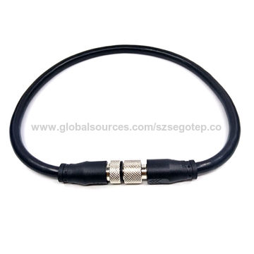 M12 Female Cable harness 3 wires plus hollow vent tube in cable. 2 meters long5.jpg