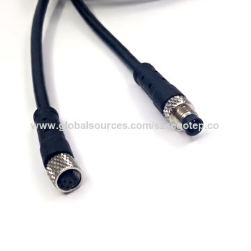 M5 Female to male 4pin connector for Home Appliance Application wire loom2.jpg