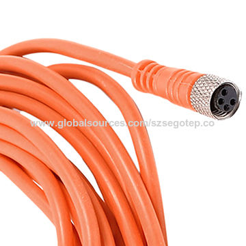 M8 4 Pin Female Straight Connector Aviation Socket with Yellow Cable.jpg