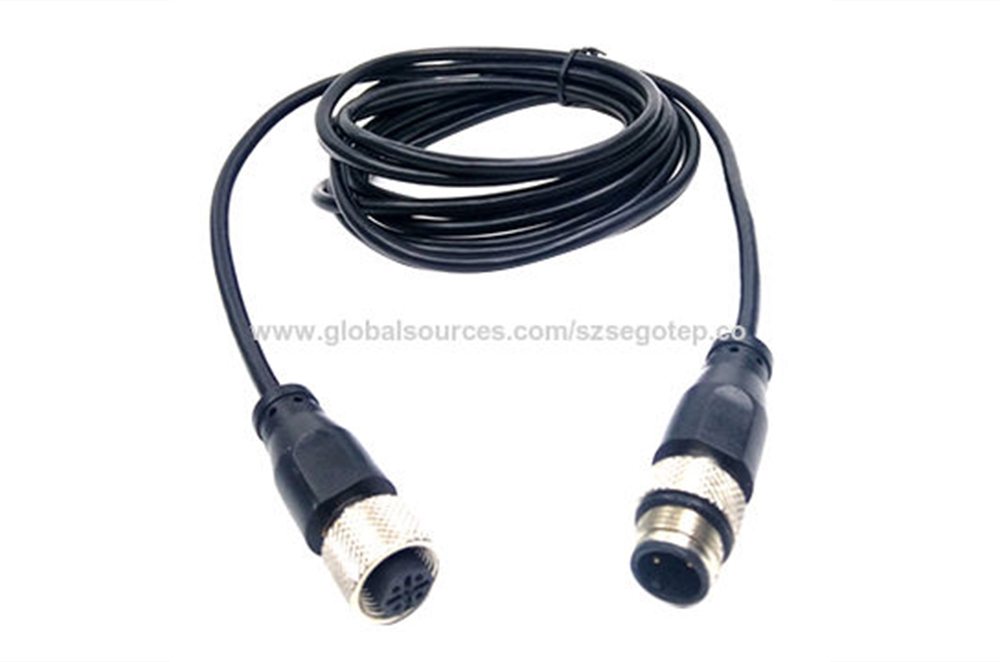M12 connector,waterproof connector,M12 cable connector