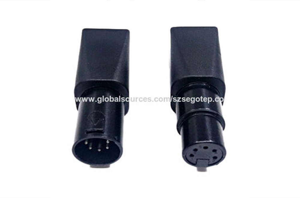 RJ45 female to XLR 5P male adapter for DMX512 cable