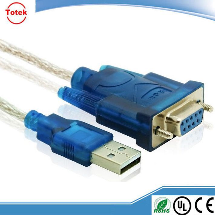 blue color female rs232 to usb