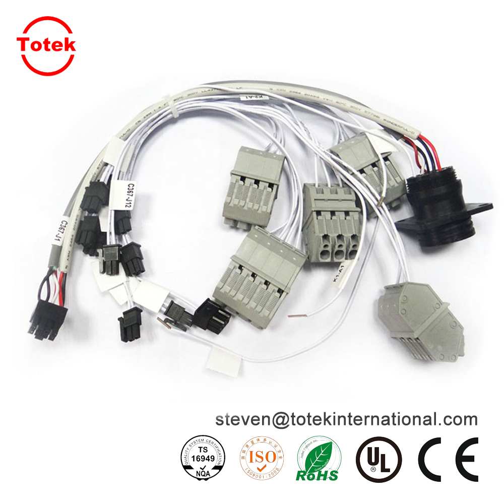 High precision wire loom automotive wire harness
