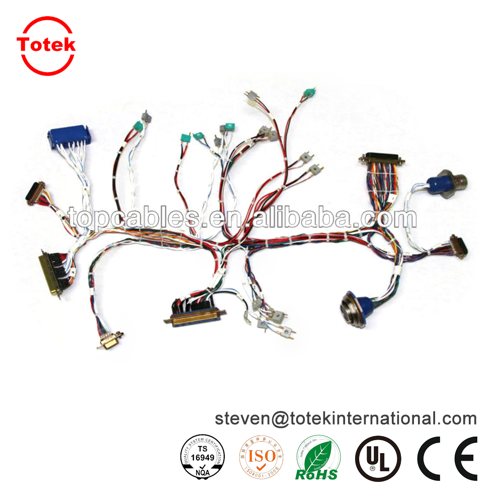 Automotive wire harness for audio system