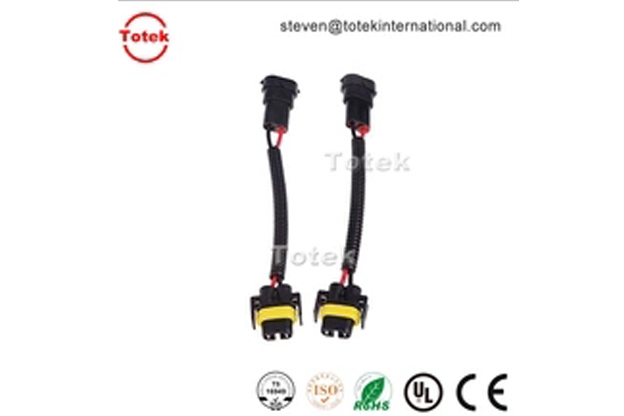 2pin H8 H9 H11 Wiring Harness Socket Wire Connector Plug Adapter for automotive LED Foglight Head Light Lamp Bulb